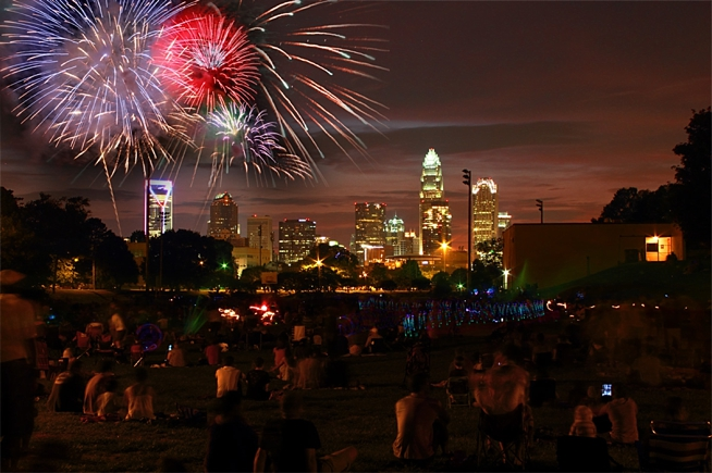 Uptown Charlotte 4th of July Activities